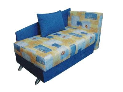 Прямой диван Крош вид сбоку