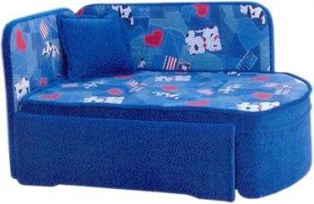 Прямой диван Гном вид сбоку