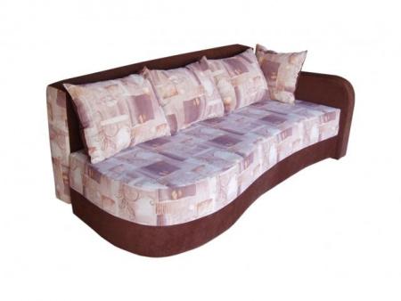 Прямой диван Лира вид слева