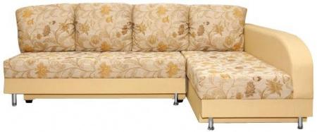 Угловой диван  Бали-люкс вид спереди