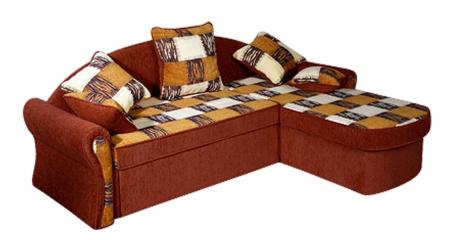 Угловой диван  Юнона люкс вид сбоку