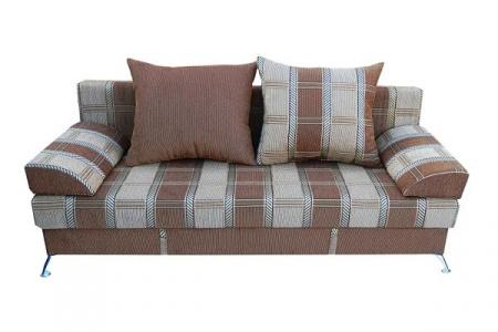 Прямой диван Рига вид спереди