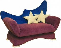 Прямой диван Ле-ля
