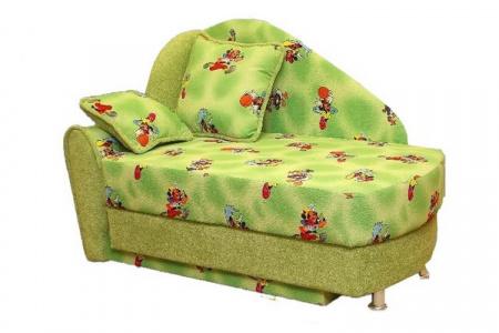 Прямой диван Фиона вид сбоку