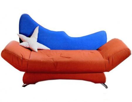 Прямой диван Орбита вид спереди