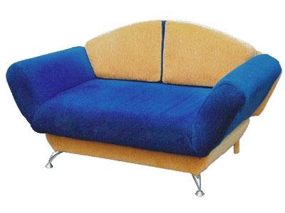 Прямой диван Сити вид сбоку