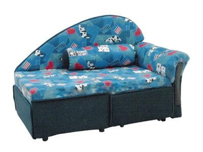 Прямой диван Малыш-Поло вид спереди