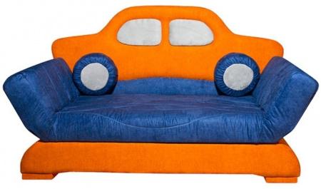 Прямой диван Автомобиль вид спереди