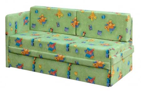 Прямой диван Малыш вид сбоку
