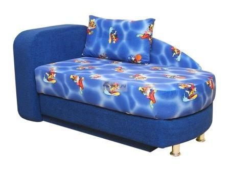 Прямой диван Гамми вид сбоку