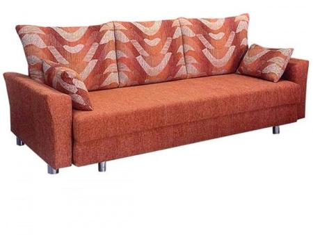 Прямой диван Сава вид слева