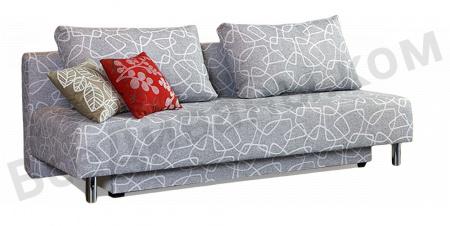 Прямой диван Фондю вид слева