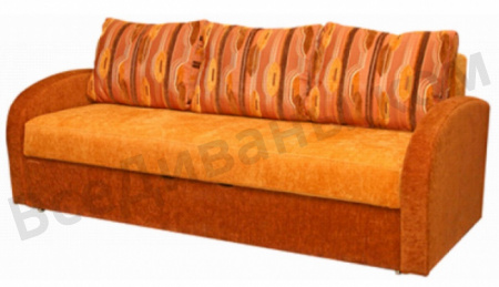 Прямой диван Калиста вид справа