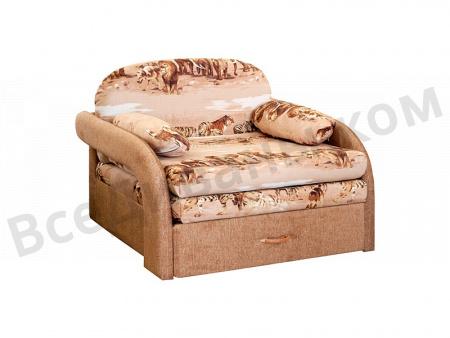 Прямой диван Чунга-чанга вид сбоку