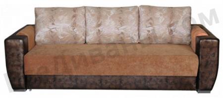 Прямой диван Блюз 10 вид спереди