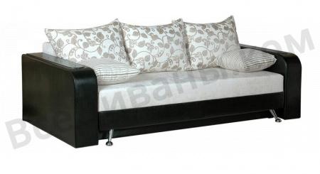 Прямой диван Серенада вид слева