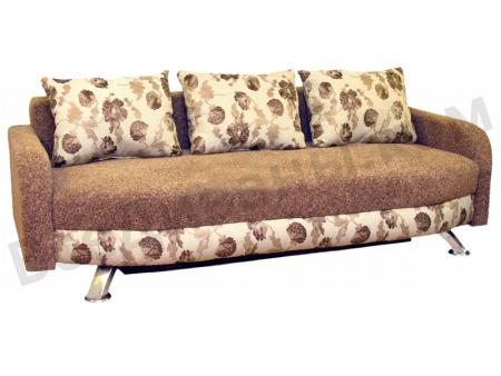 Прямой диван Стелла вид сбоку