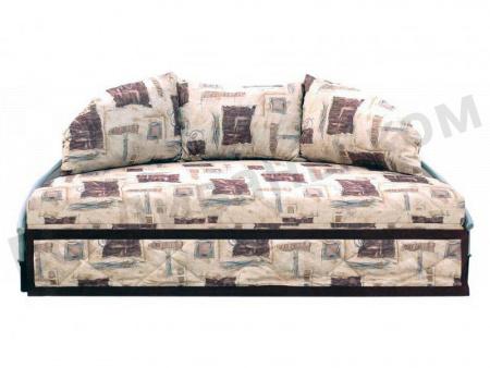 Диван на металлокаркасе  Диван-кровать долька вид спереди