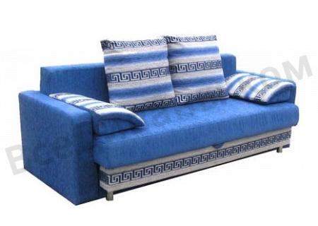 Прямой диван Вика вид слева