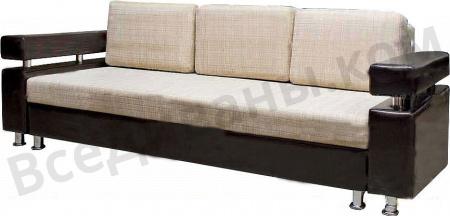 Прямой диван Капучино 2 вид сбоку