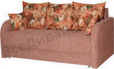 Прямой диван Блюз7 вид справа