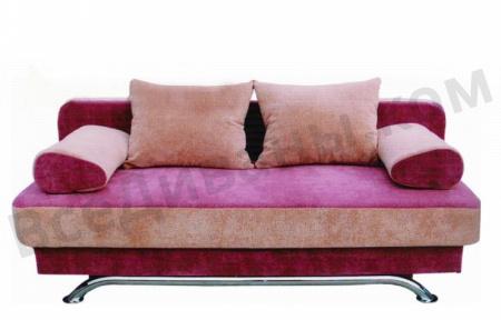 Прямой диван Калина вид спереди