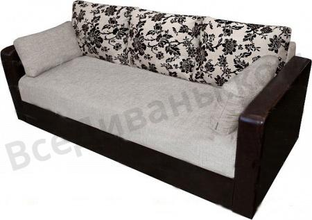Прямой диван Селена вид справа