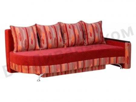 Прямой диван Барс вид сбоку