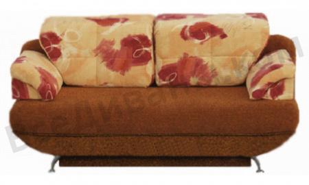 Прямой диван Женева вид спереди