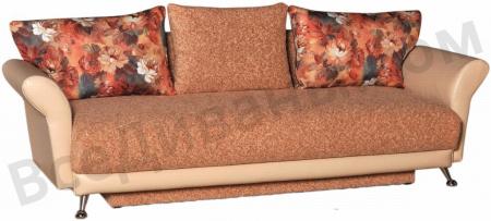 Прямой диван Зевс вид сбоку