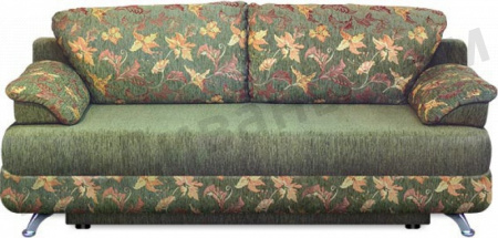 Прямой диван Алиа вид спереди