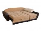 Угловой диван  Император Люкс в разложенном виде