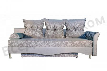 Прямой диван Виолета вид с переди
