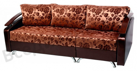 Прямой диван Трансформер-2 вид сбоку