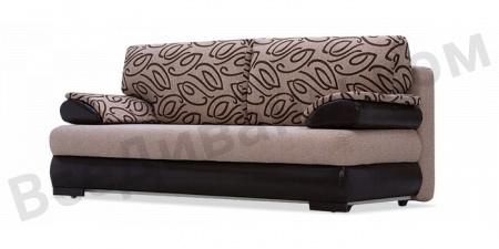 Прямой диван Фиджи вид сбоку