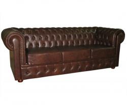 Прямой диван Офисный диван Честер 3-х местный