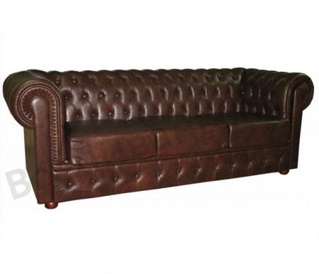Прямой диван Офисный диван Честер 3-х местный Офисный диван Честер 3-х местный