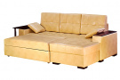 Угловой диван  Квант в разложенном виде
