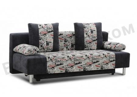 Прямой диван Чарли вид сбоку