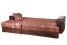 Угловой диван  Деметра в разложенном виде
