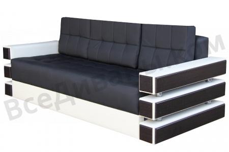 Прямой диван Венеция вид сбоку