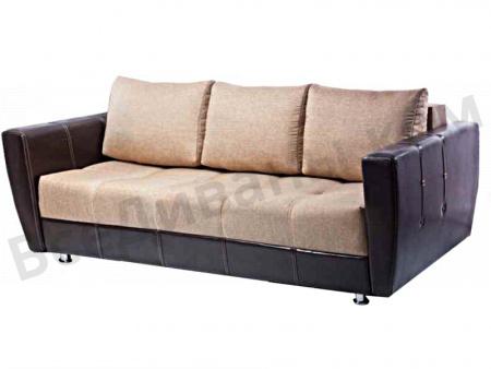Прямой диван Саквояж вид сбоку