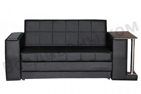 Прямой диван Стайл со столиком вид спереди