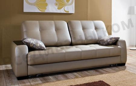 Прямой диван Бруно вид слева
