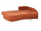 Угловой диван  Поло-Люкс в разложенном виде
