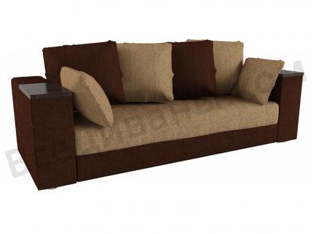 Прямой диван Мадрид вид спереди