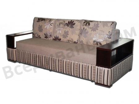 Прямой диван Хилтон вид сбоку