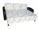 Прямой диван Берген в разложенном виде