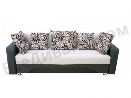 Прямой диван Алекс-2 вид спереди