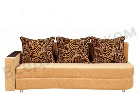 Прямой диван Майами вид спереди